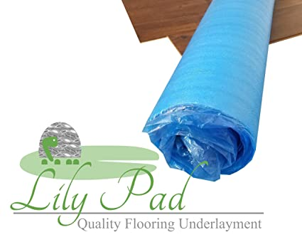 Lily Pad Laminate Flooring Underlayment 3mm Epe Foam 500 Square