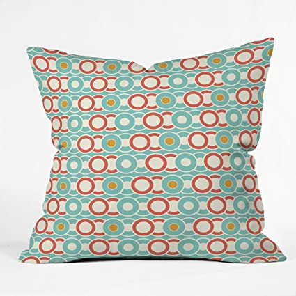 Deny Designs Heather Dutton Ring A Ding Throw Pillow, 20 x 20