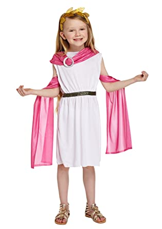 Kids Roman Outfit Costume Fancy Dress Book Week Costume