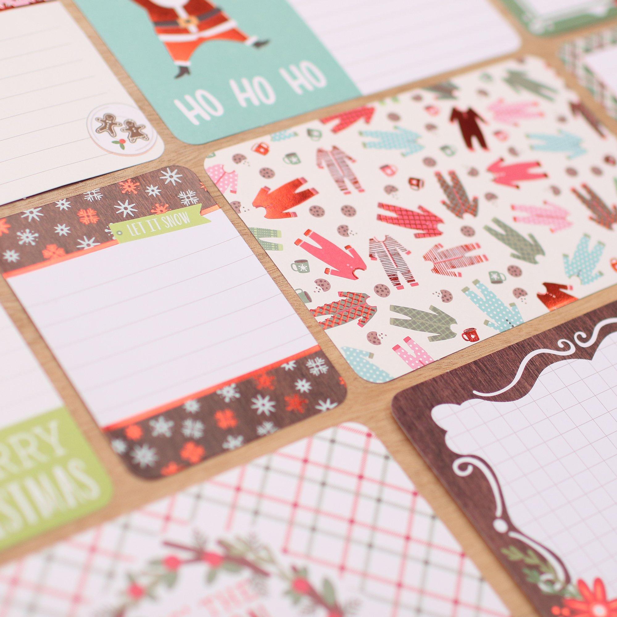 Holly Jolly Holiday Christmas Value Kit Set - 100 pcs - Project Life