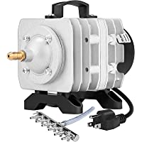 VIVOSUN 317-1750GPH Commercial Air Pump 20W-102W, 18L-110L/min, 4-12 Outlets Air Pumps for Aquarium and Hydroponic Systems