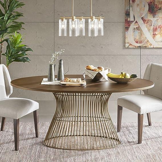 Amazon.com: Mercer ovalada mesa de comedor: Kitchen & Dining