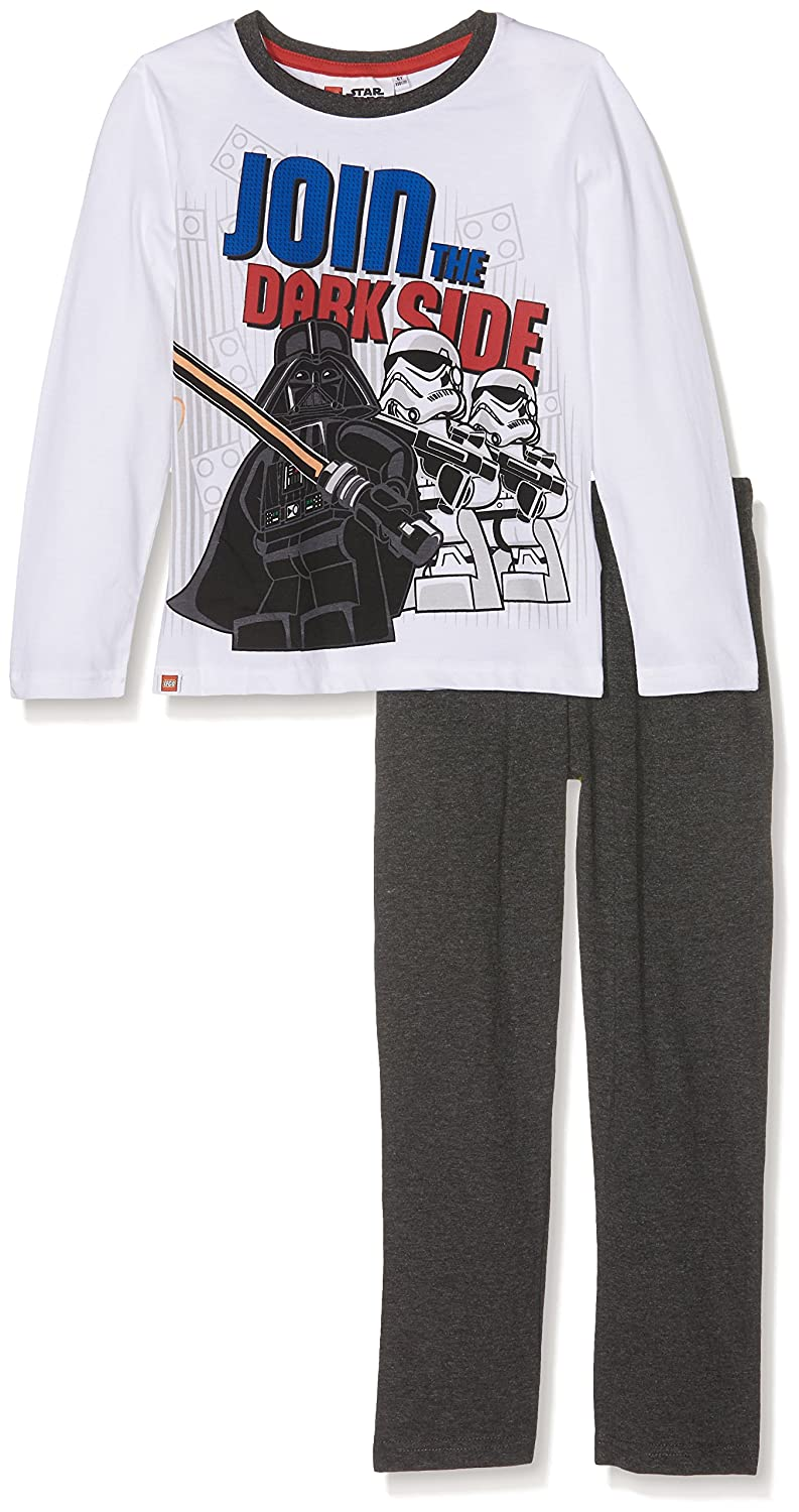 LEGO Pajama Star Wars L//S 3 Models 110, White