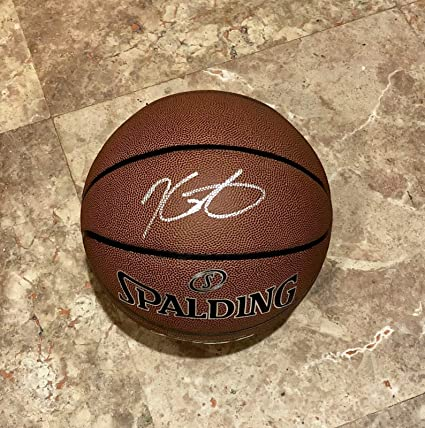 new arrival 28d89 51242 KEVIN DURANT AUTOGRAPHED Hand SIGNED F.S. BASKETBALL Golden ...