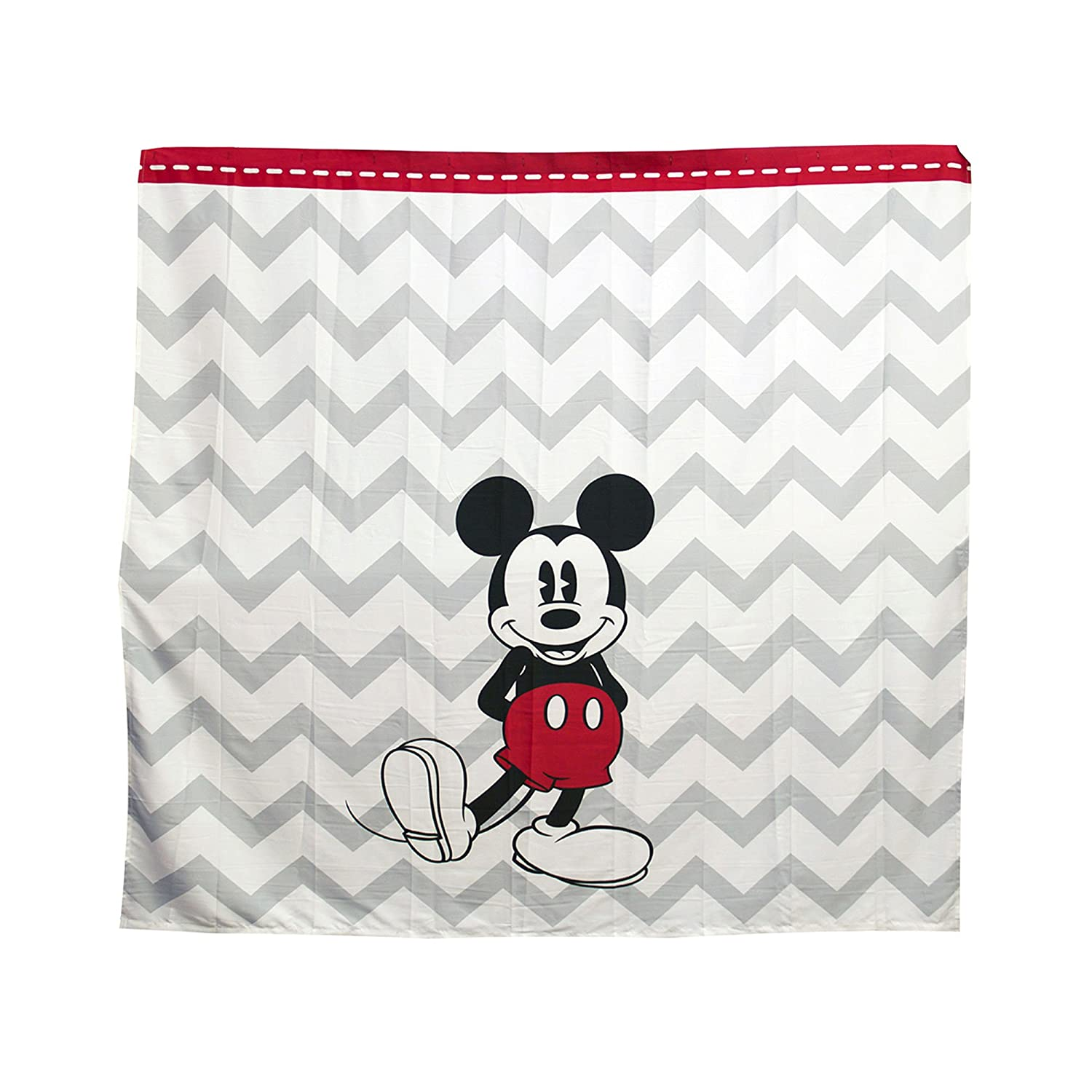 Very Cute Black Bathroom Set In Mickey Mouse Motif Include Towel