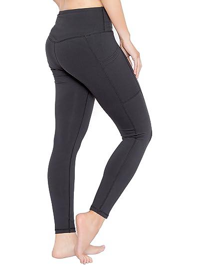 Amazon.com: Simple Apparel Leggings High Waist Yoga Pants ...