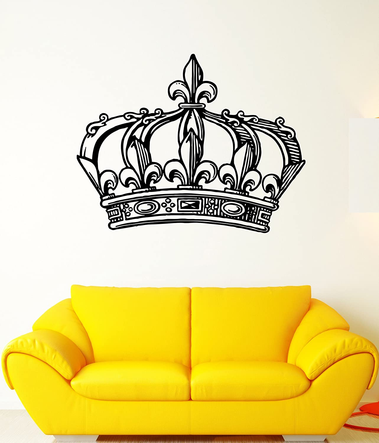 Large Wall Decal Crown King Kingdom Sceptre Emperor National products Power Mural 2021 spring and summer new