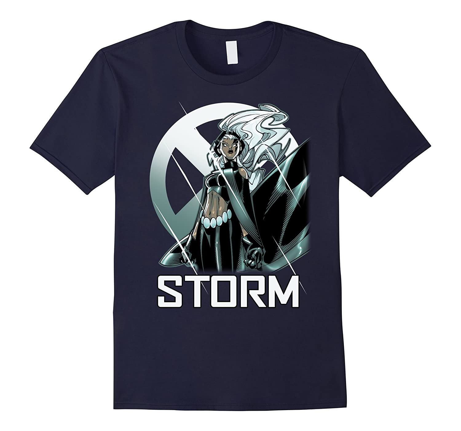 Marvel X-Men Storm The Calm Before Profile Graphic T-Shirt-SFS