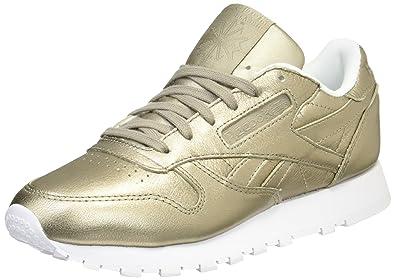 Reebok Cl Lthr Melted Metal, Zapatillas de Deporte para Mujer: Amazon.es: Zapatos y complementos