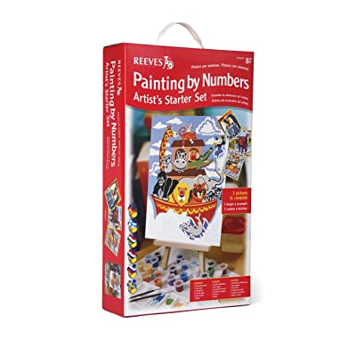 Reeves - Set Artista para Principiantes de Pintar por números, intermedio: Juguetes y juegos