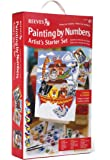 Reeves - Set artista para principiantes de pintar por números, intermedio
