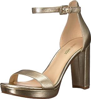 c8a2feeb5f31 Amazon.com  Nine West Women s DARANITA Fabric Heeled Sandal  Shoes