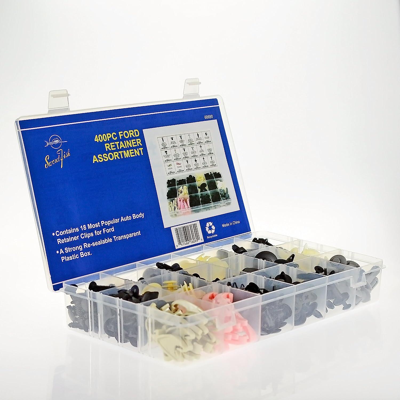 Swordfish 60690-400pc Ford Retainer Clip Assortment