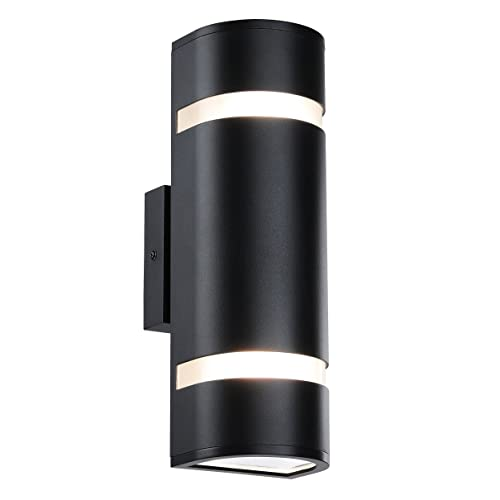 modern outdoor wall lighting wall mount outdoor wall light in shape with aluminum modern sconce black water proof mount lighting amazoncom
