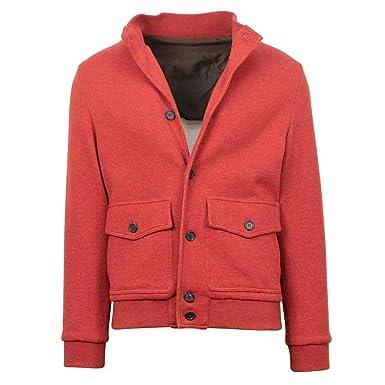 Amazon.com: Caruso - Chaqueta de lana para hombre 50/R 40 ...