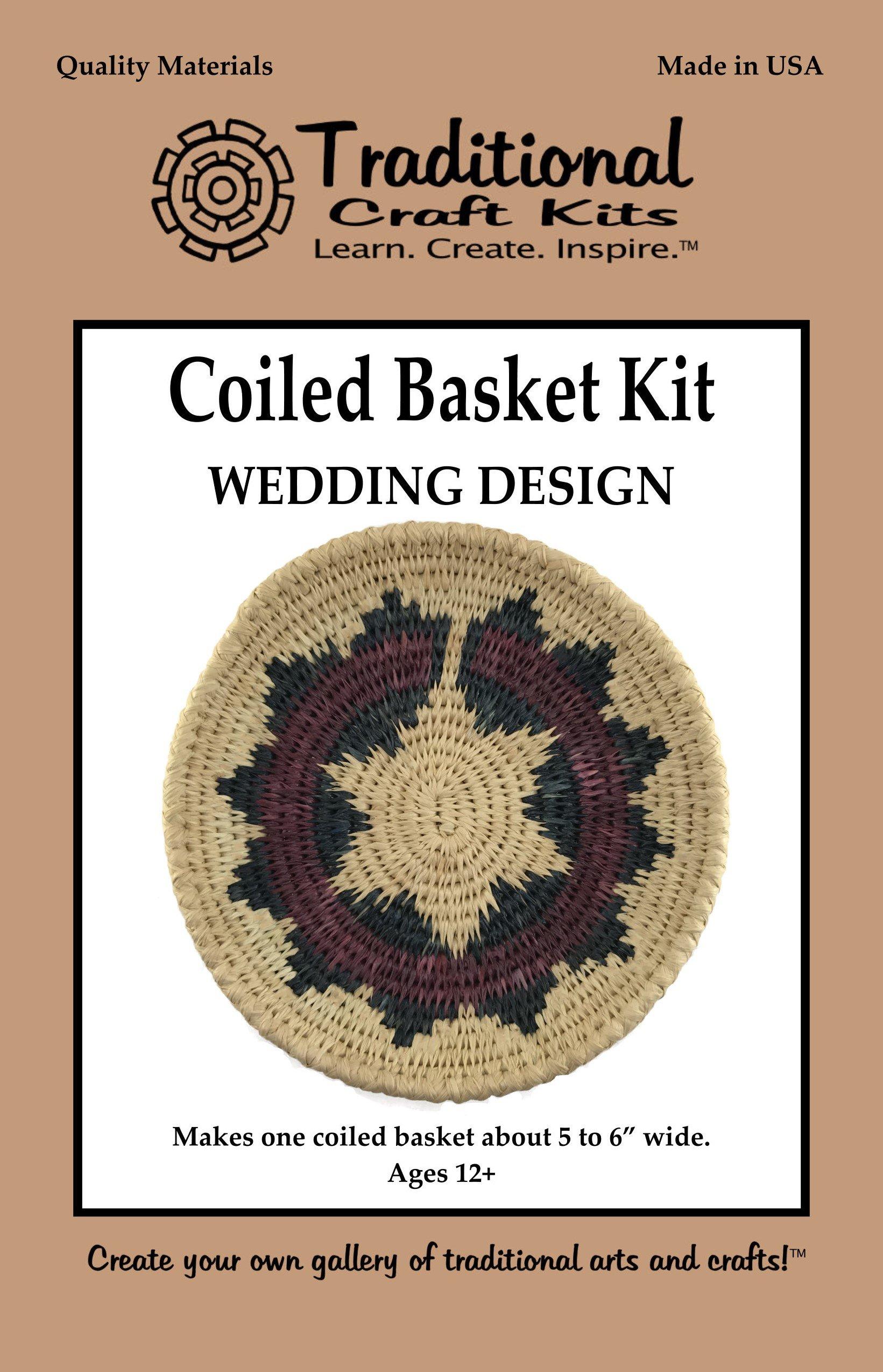 Coiled Basket Kit - Wedding Design