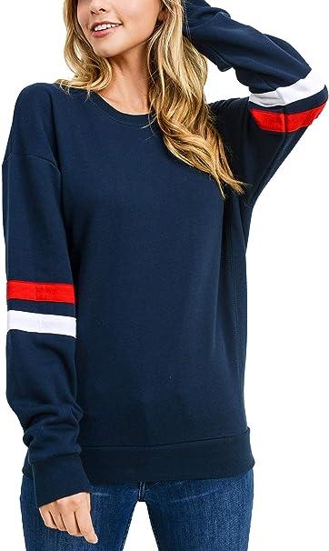 Damen Pullover Pulli Sweater Langarm Sweatshirt Shirt 34 36 38 40 S M