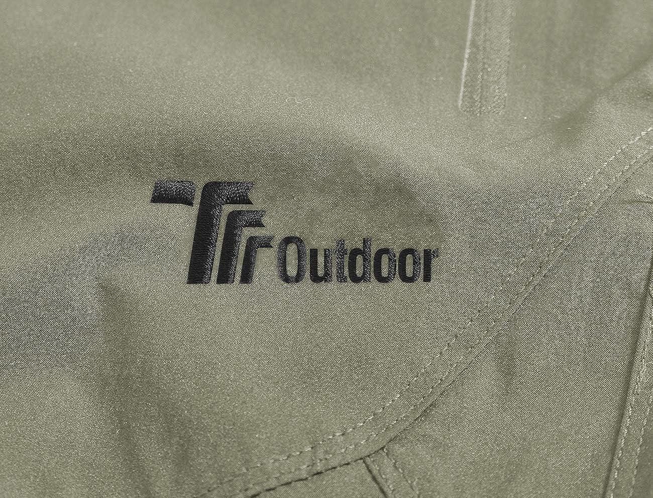 ad asciugatura rapida Donhobo con protezione UV e tasche con zip Pantaloni da trekking da donna