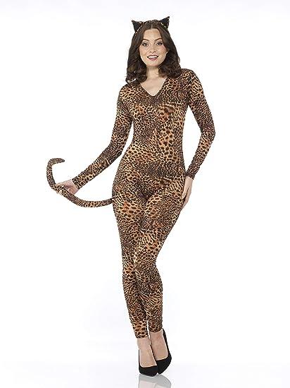 Karnival Costumes Womens Wild Leopard Bodysuit