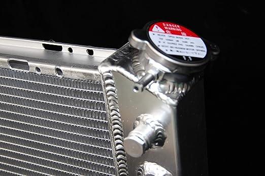 3 ROWS ALUMINUM RADIATOR FIT 88 89-1995 TOYOTA PICKUP// 4Runner 3.0L V6 POLISHED