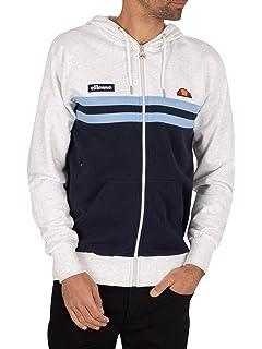 Blue Ellesse Men/'s Secora Pullover Zip Hoodie