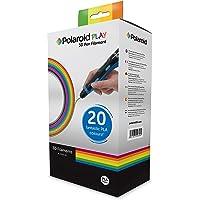 Polaroid Play- 3D Pen Filamento, 20 fantásticos PLA