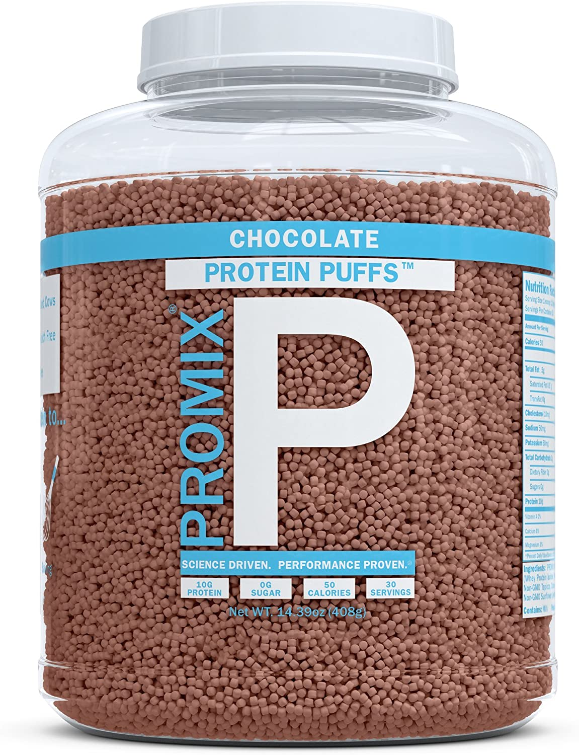 Amazon.com: PROMIX Performance Whey Protein Puffs ...