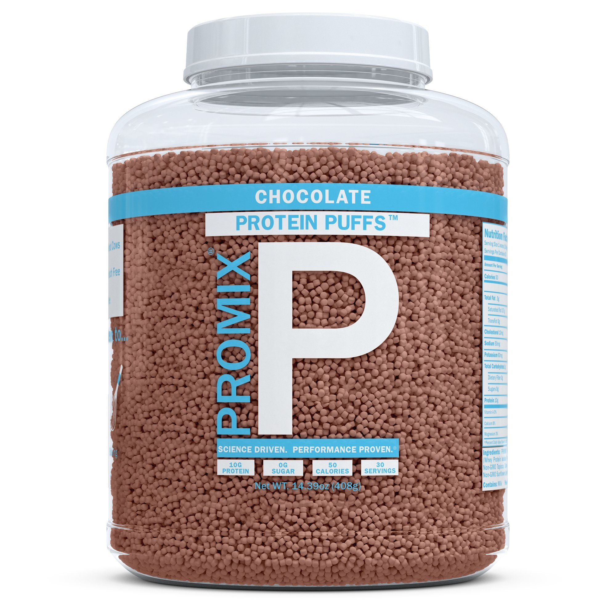 ProMix Nutrition Chocolate Flavored Protein Puffs