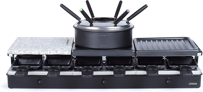 Comparativa de las mejores Raclette fondue en 2021 5