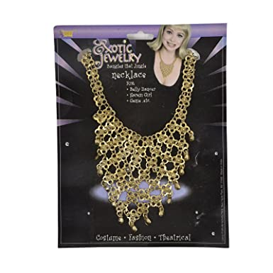 Exotic Jewelry Belly Dancer Necklace Fancy Dress Prop Amazon Co Uk