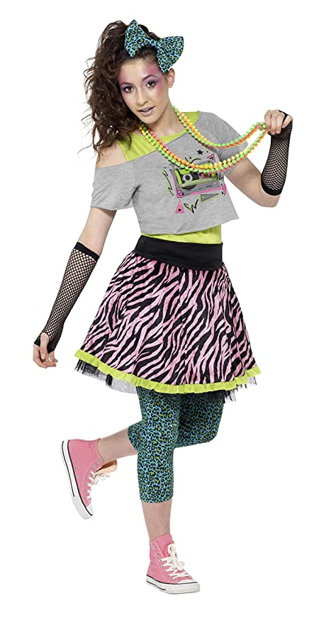 80s Costumes, Outfit Ideas Smiffys Teenagers 80S Wild Costume $19.29 AT vintagedancer.com