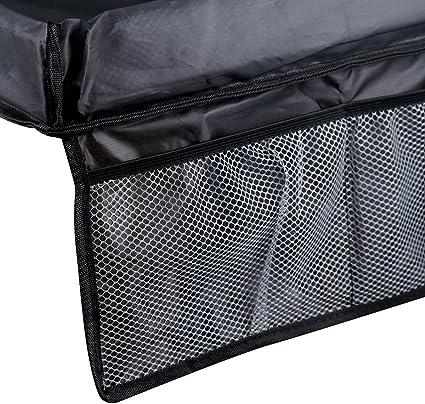 ISKIP Mesa-bandeja impermeable para ni/ños para coche en ella el beb/é juega avi/ón para interior y al aire libre aprende y est/á activo port/átil para tren