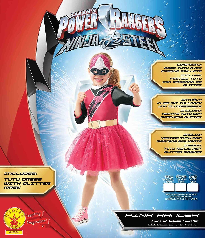 Rubies Disfraz oficial de Power Rangers, Ninja Steel ...