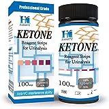 Hk Ketone Test Strips 100 Urine Strips To Check Ketosis Levels