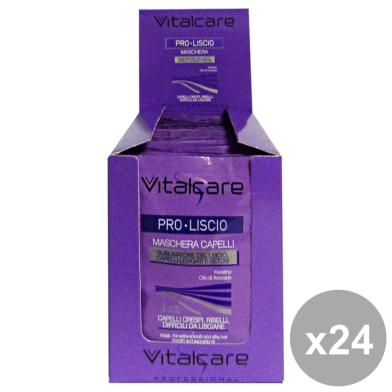 Vitalcare Set 24 Impacco Monodose Pro-liscio 25 Ml. Prodotti Per Capelli