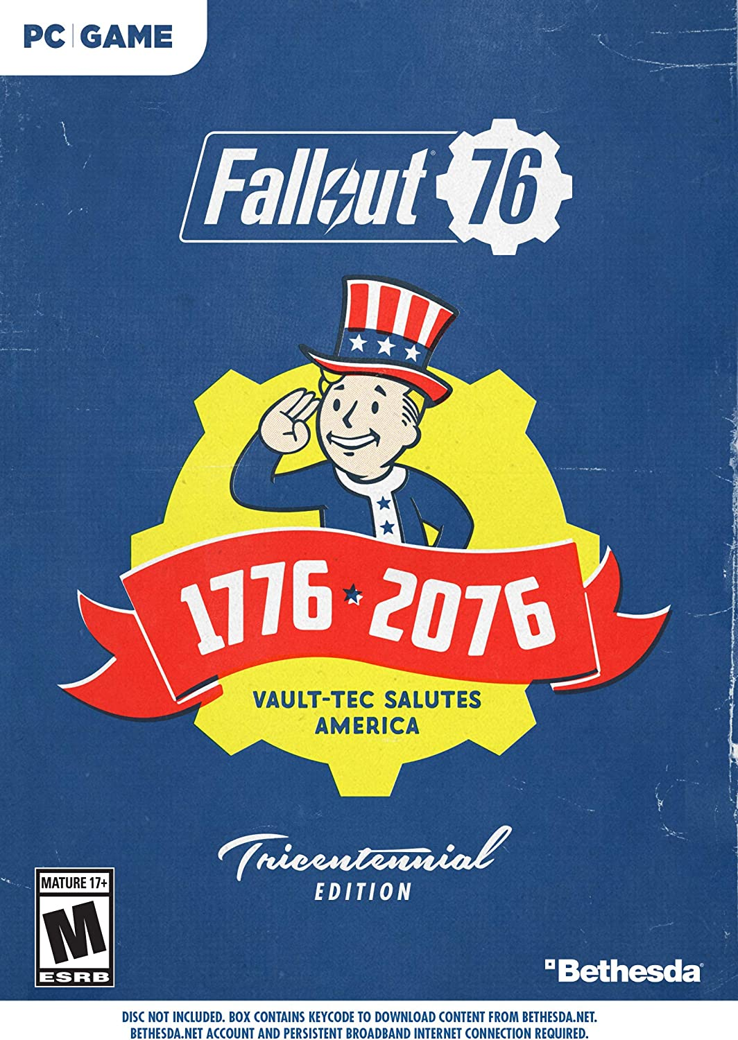 Amazon com: Fallout 76 Tricentennial Edition - PC: Video Games