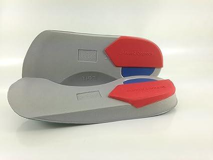 Dr Foot Pro – Plantillas para supinadores de 4 grados de 3/4, tamaño