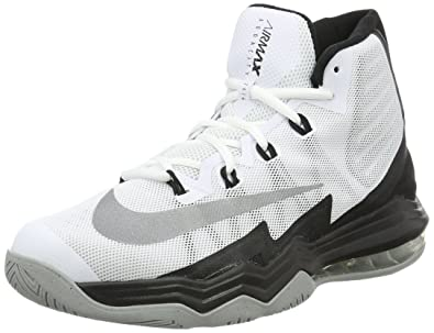 74061599f6f4 Image Unavailable. Image not available for. Color  Nike Air Max Audacity II  White Black Wolf Grey Reflect Silver Men s Basketball