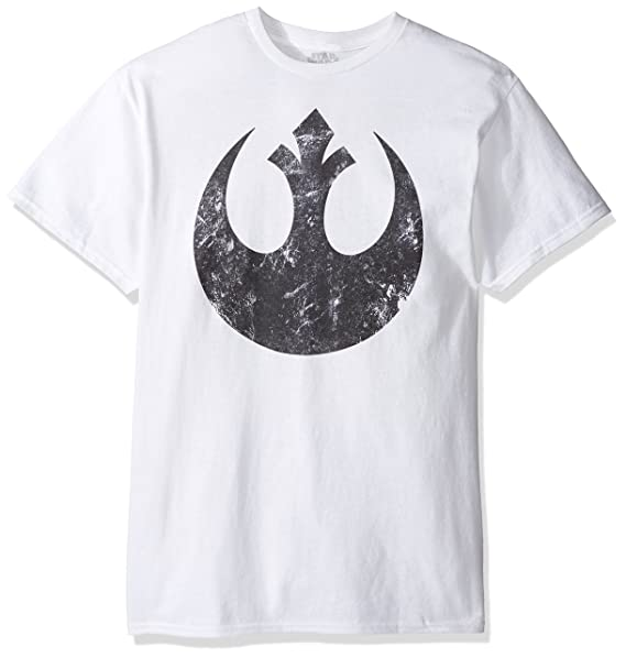 Amazon Star Wars Mens Alliance Emblem Symbol Graphic Logo T
