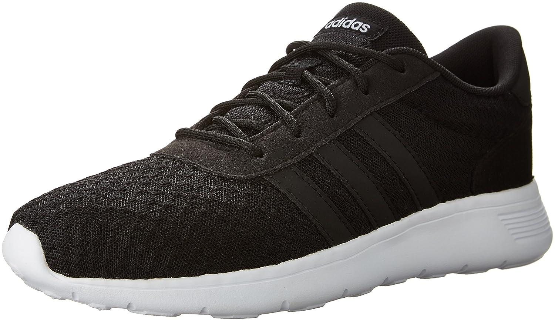 adidas  Women's Lite Racer w Running Shoe B01FCEELBC 8 B(M) US|Black/White Textile