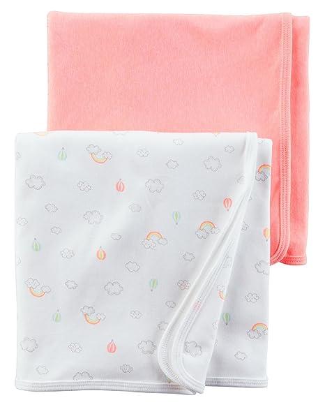 Amazon.com: Carters babysoft mantas para bebé – Cloud Print ...