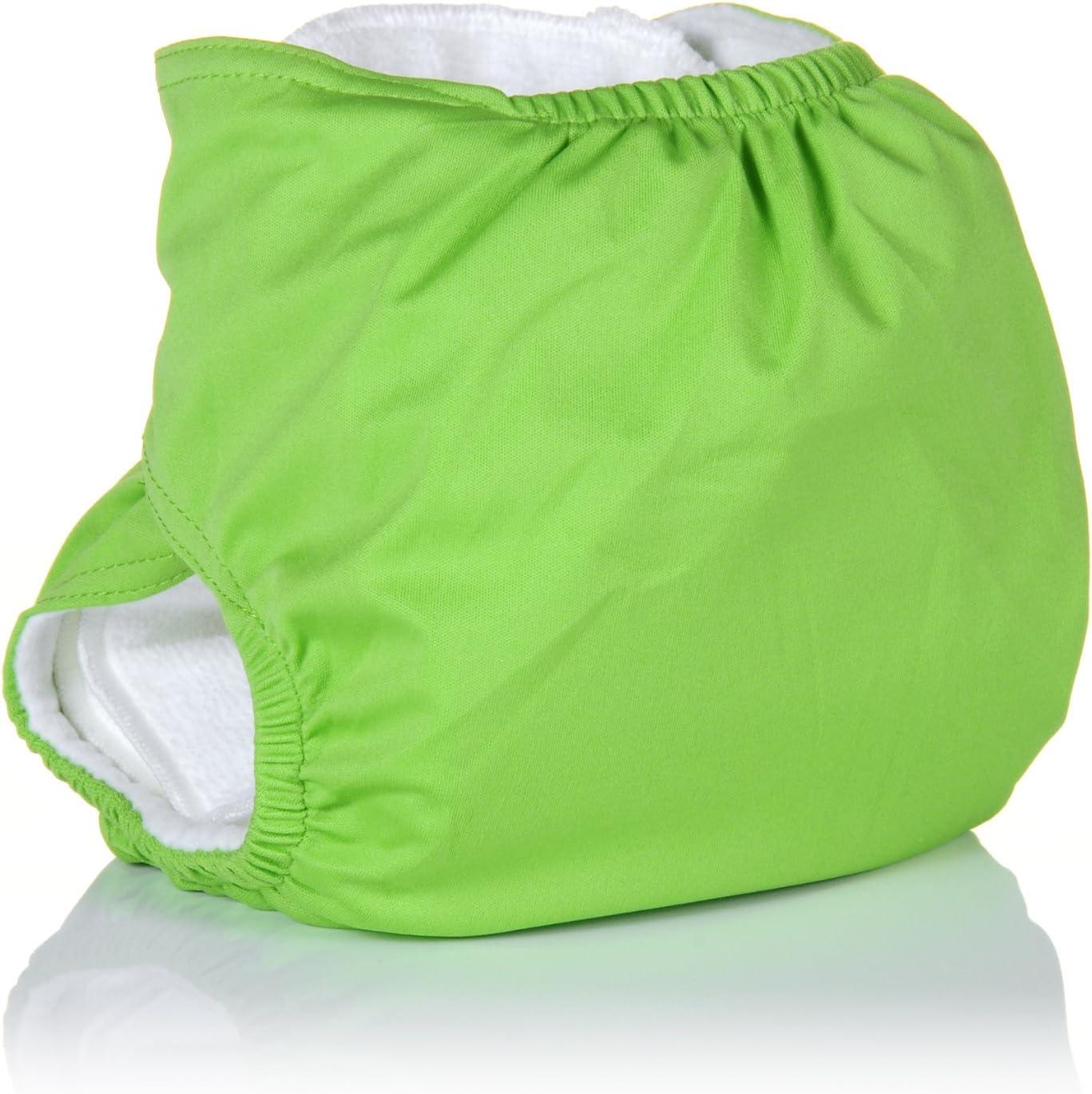 Gamme Premium avec 2 inserts Three Little Imps Couches Lavables Vert
