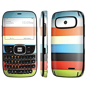 [ZTE Altair 2 Z432] Skin [NakedShield] Scratch Guard Vinyl Skin Decal [Full Body Edge] [Matching WallPaper] - [Color Bars] for AT&T GoPhone ZTE Z432 [Altair 2]