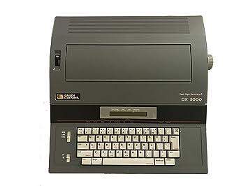 Smith Corona DX 5000 - Máquina de escribir diccionario eléctrico