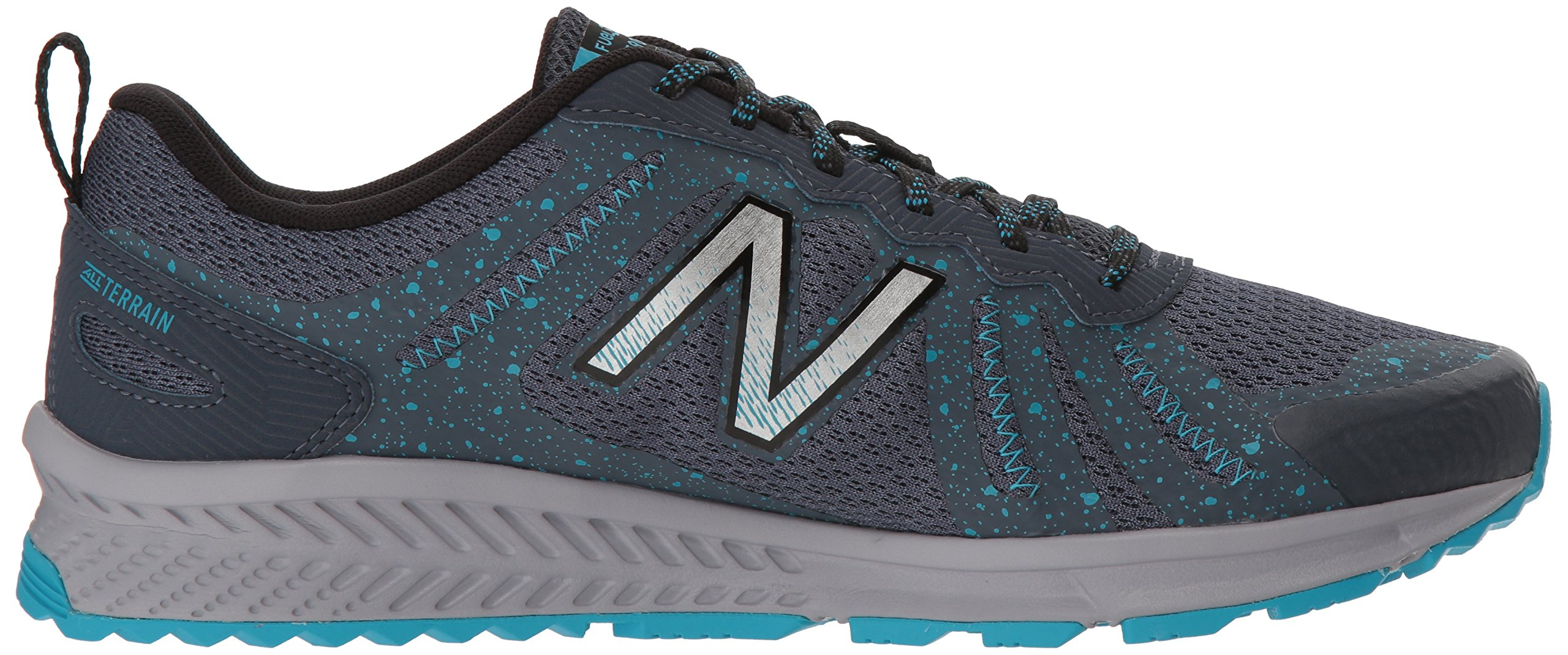 New Balance Women's 590v4 FuelCore Trail Running Shoe Dark Grey 6 D US by New Balance (Image #6)