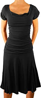 product image for Funfash Plus Size Women Off Shoulders Black Cocktail Cruise Dress Made in USA