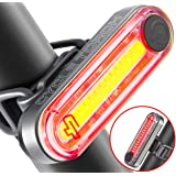 Cycle Torch Fire Stick- USB Rechargeable Bike Tail Light, RED Rear Bicycle Light, Super-Bright LED Tailllight, Universal Compatibility, Light Weight, Extra Long Run-time, Light Weight, Easy to Mount
