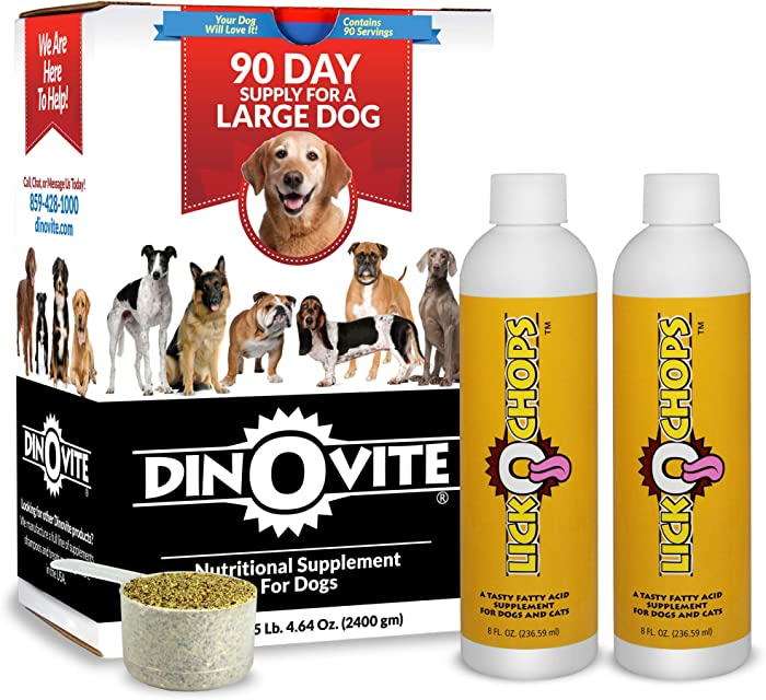 Dinovite for Large Dogs with LickOchops