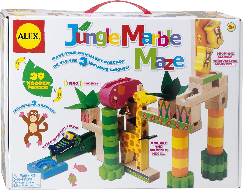 ALEX Toys Jungle Marble Maze