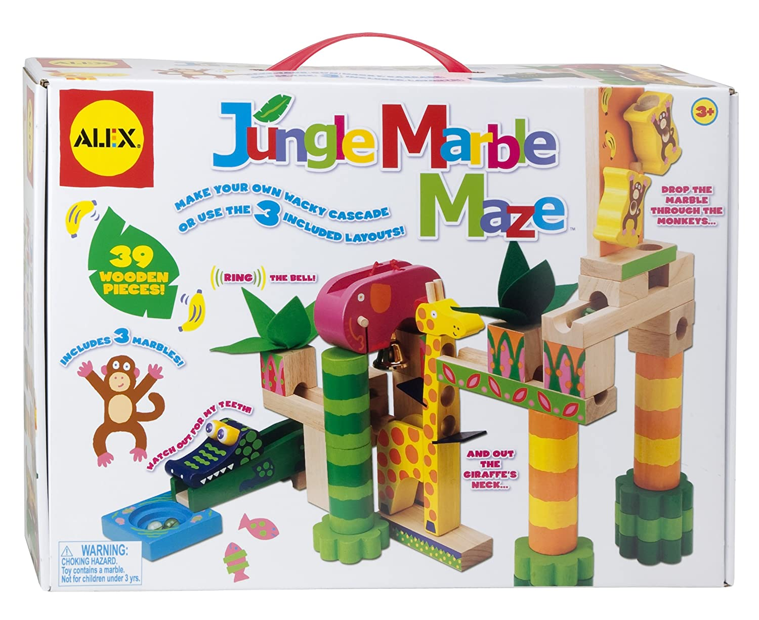 ALEX Toys - Early Learning Jungle Marble Maze - Little Hands 17N ALEX Canada
